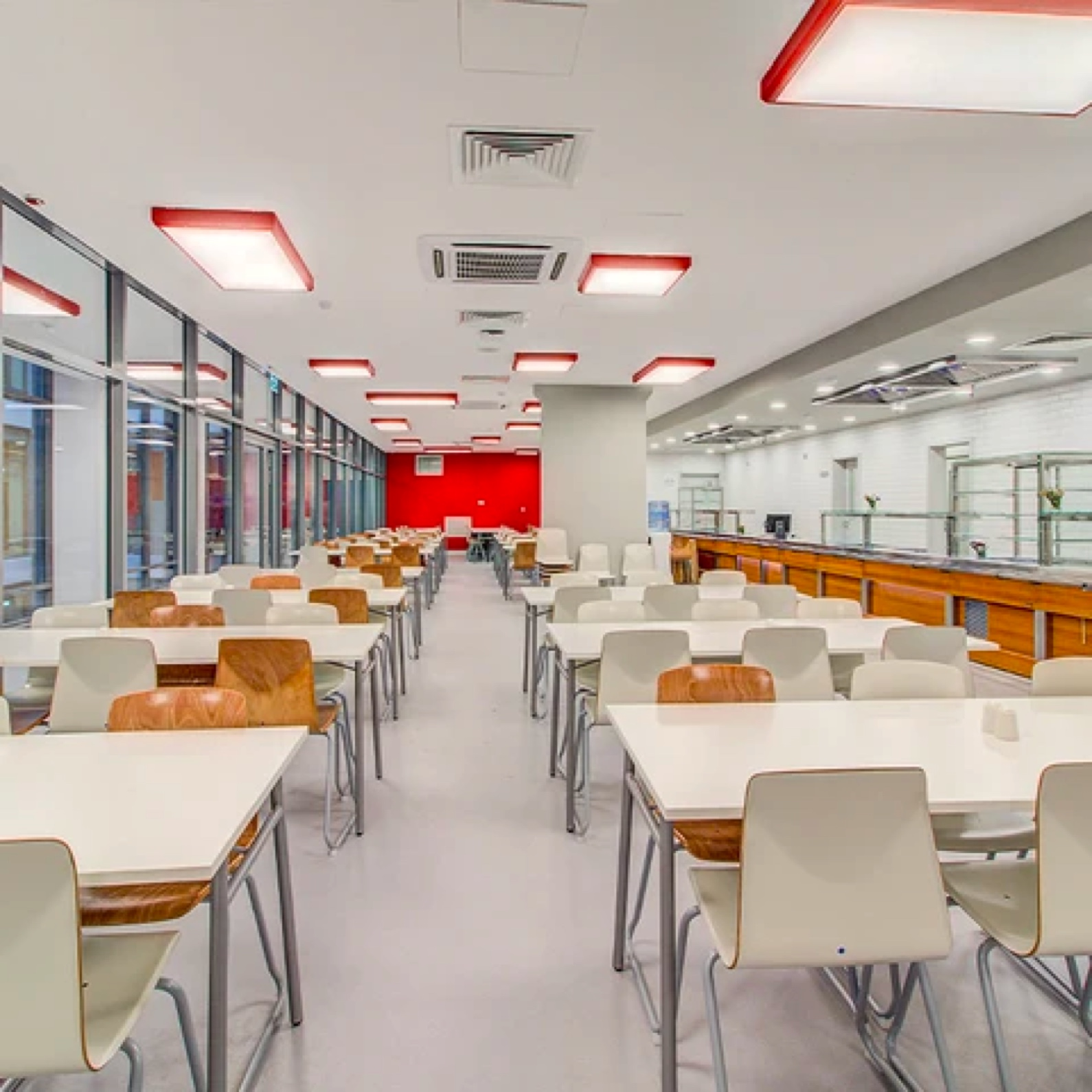 school floor coating applications